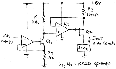 JFET hybrid current source