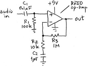x100 audio amplifier