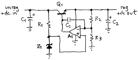 discrete linear regulator